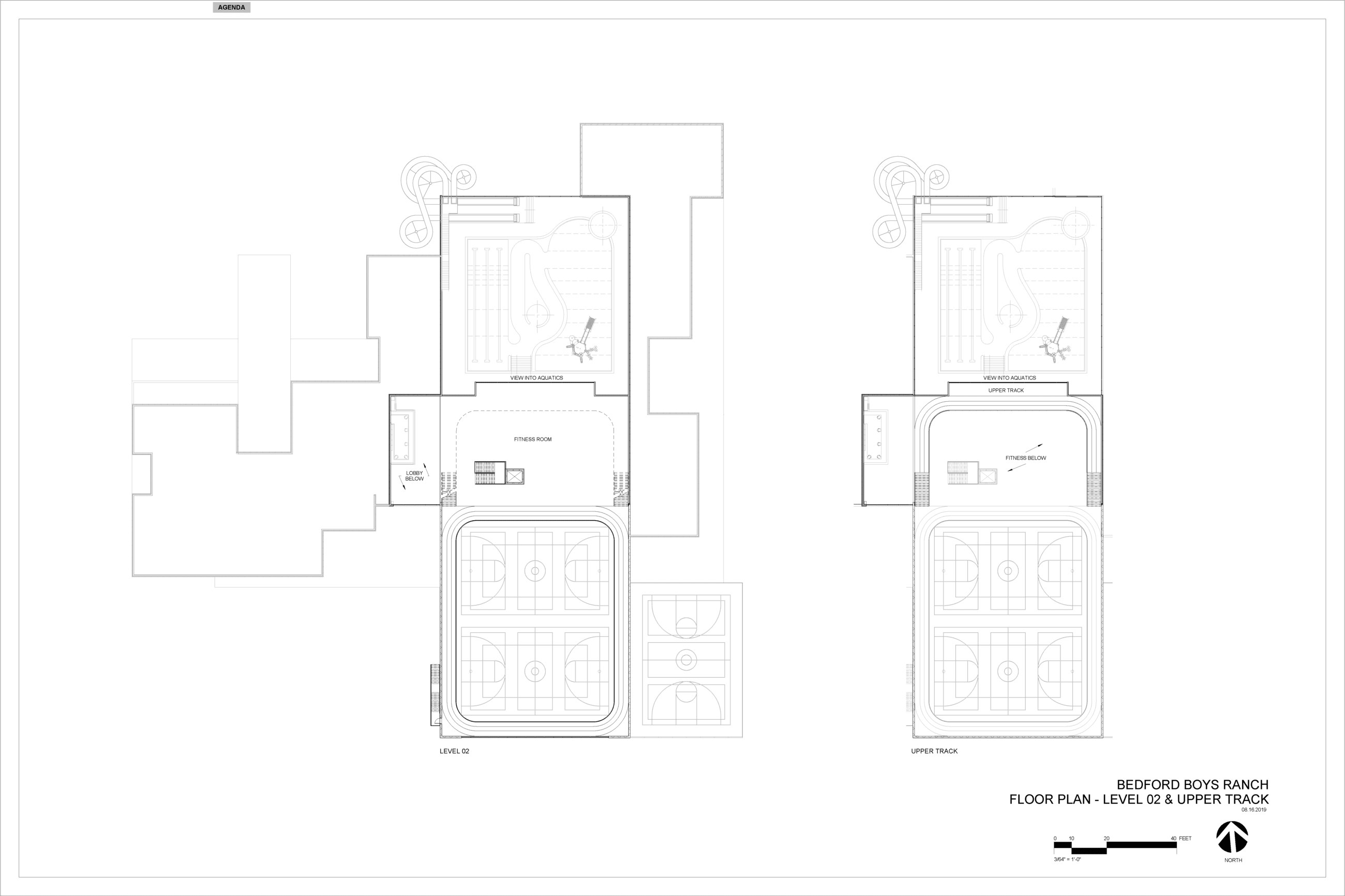 15 percent Design Schematic 2nd Floor