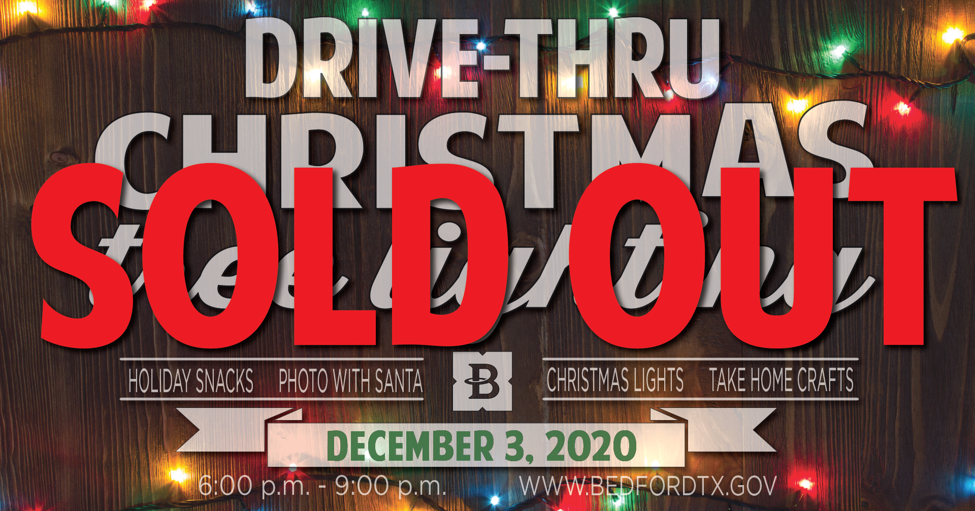 2020 tree lighting sold out